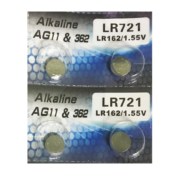 Tianqiu 10 X Ag11 Lr721 362 Sr721Sw Alkaline Battery