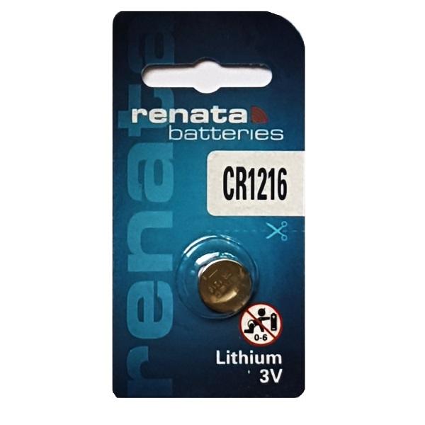 Renata CR1216 Lithium Cell Button Battery (1 Piece)
