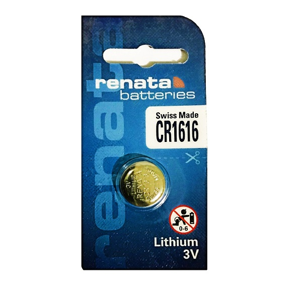 Renata CR1616 Lithium Cell Button Battery (1 Piece)