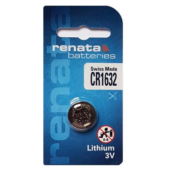 Renata CR1632 Lithium Cell Button Battery (1 Piece)