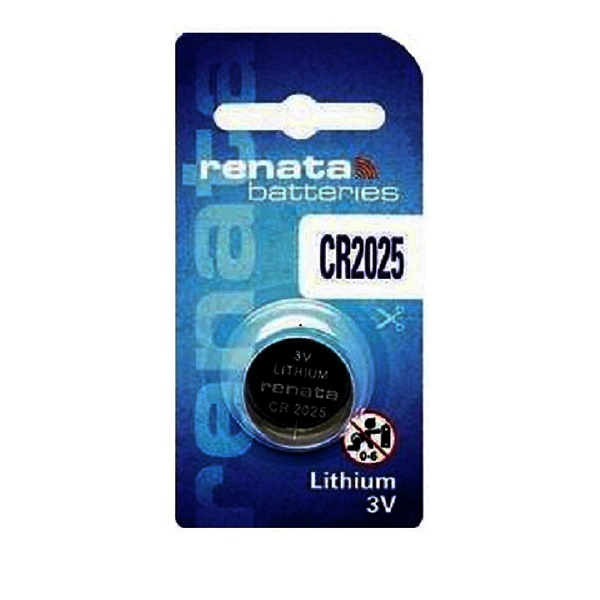 Renata CR2025 Lithium Cell Button Battery (1 Piece)
