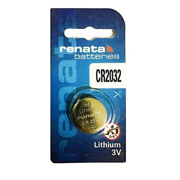 Renata CR2032 Lithium Cell Button Battery (1 Piece)
