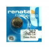 Renata 362 SR721SW SR58 SR721 1.55V Button Silver Oxide Battery (1 Piece)
