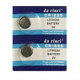 DaVinci CR1225 Lithium Cell Button Battery (2 Pieces)