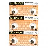 TIANQIU AG0 SR521SW LR521 379 Button Alkaline Battery (6 Pieces)