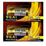 VSAI 23A 12V High Voltage Alkaline Battery (2 Pieces)