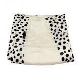 MummyHugs Baby Sling Carrier Plush Cotton Waleria White with Velvet Polka Dots
