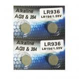 AG9 SR936SW LR936 LR45 194 GP96A 394 Button Alkaline Battery (4 Pieces)