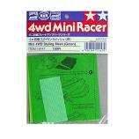 Tamiya 15147 Mini 4WD Styling Mesh (Green)