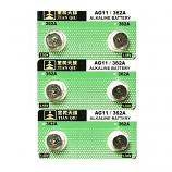 TIANQIU AG11 SR721SW LR721 LR58 162 GP62A 362 Button Alkaline Battery (6 Pieces)