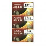 VSAI AG3 SR41SW LR41 392 Button Alkaline Battery (6 Pieces)