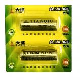 TIANQIU 27A 12V Alkaline Battery (2 Pieces)