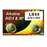VSAI AG13 SR44SW LR44 A7a6 GP76A 357 Button Alkaline Battery (2 Pieces)