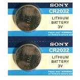 Sony Lithium Cell CR2032 3V Button Battery Long Card (2 Pieces)
