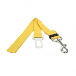 Dog Car Harnesses and Pet Seat Belts to Keep Safe (Yellow)