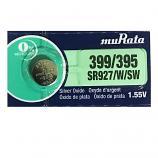 muRata 399/395 SR927SW SR57 SR927 Button Silver Oxide Battery (1 Piece)