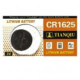 TIANQIU CR1625 Lithium Cell Button Battery (1 Piece)