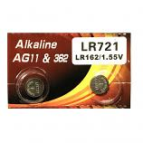 VSAI AG11 SR721SW LR721 LR58 162 GP62A 362 Button Alkaline Battery (2 Pieces)
