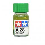 Tamiya 80028 X-28 Park Green Mini Enamel Paint Gloss 10ml