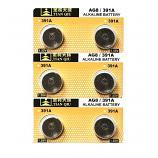 TIANQIU AG8 SR1120SW LR1121 LR55 191 GP91A 391 Button Alkaline Battery (6 Pieces)