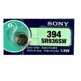 Sony 394 SR936SW AG9 SR45 SR936 1.55V Button Silver Oxide Battery (1 Piece)