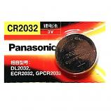 Panasonic CR2032 Lithium Cell Button Battery (1 Piece)