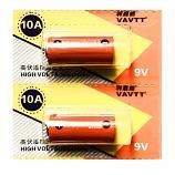 VAVTT 10A L1022 9V Alkaline Battery (2 Pieces)