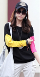 Fashion Spring New Round Neck Long Sleeve T-Shirt Size L