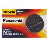 Panasonic CR2430 Lithium Cell Button Battery (1 Piece)