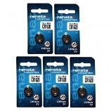 Renata CR1620 Lithium Cell Button Battery (5 Pieces)
