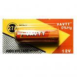 VAVTT 27A 12V Alkaline Battery (1 Piece)