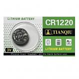 TIANQIU CR1220 Lithium Cell Button Battery (1 Piece)