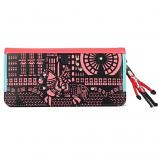 HOWRU Korean Fashion Wallet with Figure (Red)