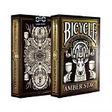 Bicycle Amber Stag Club 808 Limited Edition Playing Card