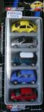 Rare Dickie 1/60 Diecast Car Salon Motor Show 5 in 1 Set B