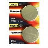 Panasonic CR3032 Lithium Cell Button Battery (2 Pieces)