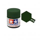 Tamiya 81326 XF-26 Deep Green Acrylic Paint Flat 23ml