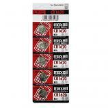 Maxell CR1620 Lithium Cell Button Battery (5 Pieces)