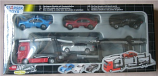 Rare Dickie Diecast Truck Stop Car Trailer 5 in 1