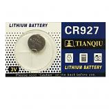 TIANQIU CR927 Lithium Cell Button Battery (1 Piece)