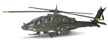 NewRay 1/155 Diecast Boeing Apache AH-64 Attack Helicopter
