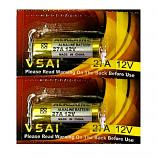 VSAI 27A 12V High Voltage Alkaline Battery (2 Pieces)