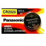 Panasonic CR2025 Lithium Cell Button Battery (1 Piece)