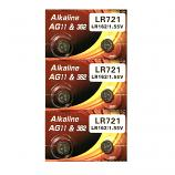 VSAI AG11 SR721SW LR721 LR58 162 GP62A 362 Button Alkaline Battery (6 Pieces)
