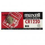 Maxell CR1220 Lithium Cell Button Battery (1 Piece)
