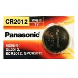 Panasonic CR2012 Lithium Cell Button Battery (1 Pieces)