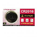 TIANQIU CR2016 Lithium Cell Button Battery (1 Piece)
