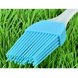Heat Resisting Food Grade BBQ Silicone Pastry Cake Bread Oil Cream Pizza Brush (Light Blue)