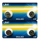 PHILIPS LR41 AG3 SR41SW 192 GP92A 392 Button Alkaline Battery (4 Pieces)