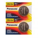 Panasonic CR2354 Lithium Cell Button Battery (2 Pieces)